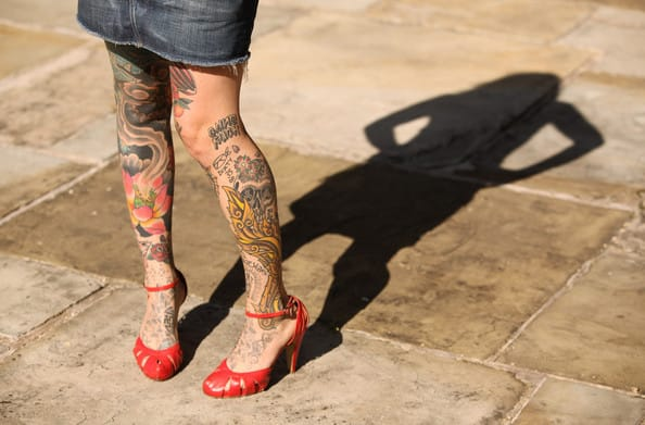 Uk's Most Tattooed Cities Revealed!!