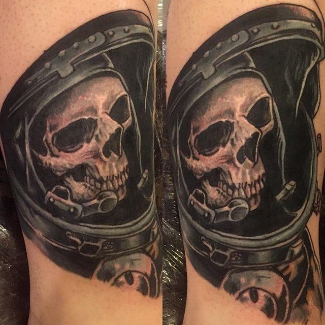 Brilliant Tattoo In Porgress by Drew O'Neill