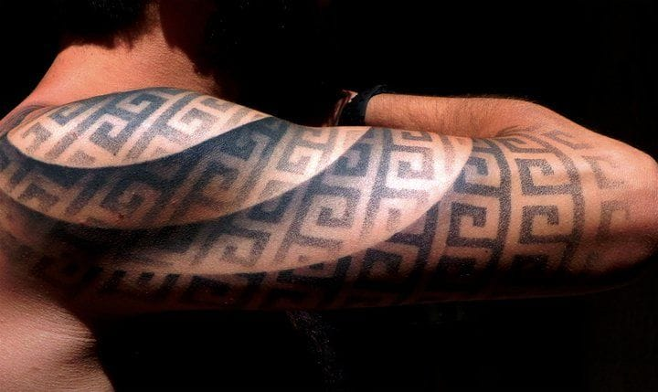 Looks like there are water ripples above the tattoo!