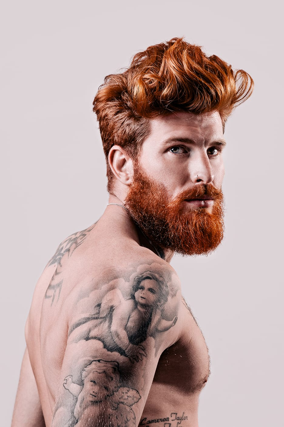 Kickstarting Movember With Tattooed Men With Beards