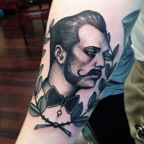 14 Sophisticated Blackwork Gentlemen Tattoos
