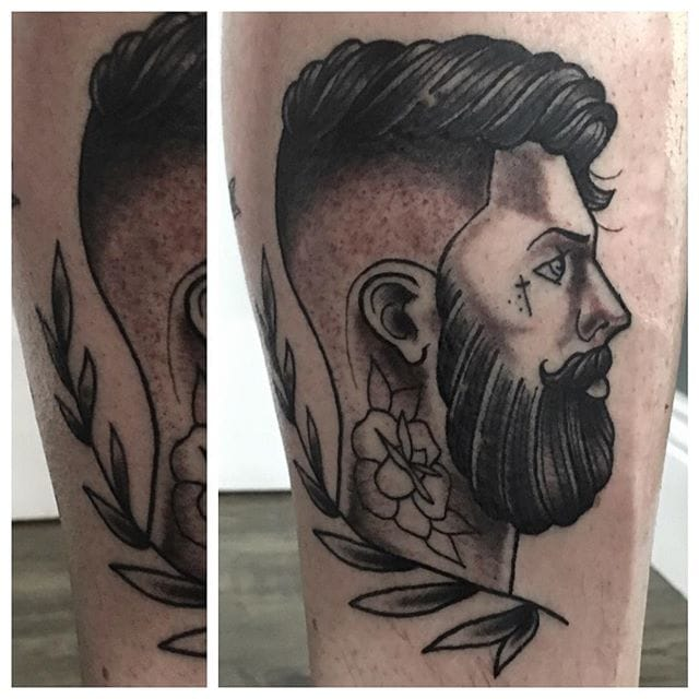 Great Piece by Custom Propaganda Tattoo