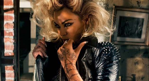 Throwback: Beyoncé Goes Tattooed Biker Chick