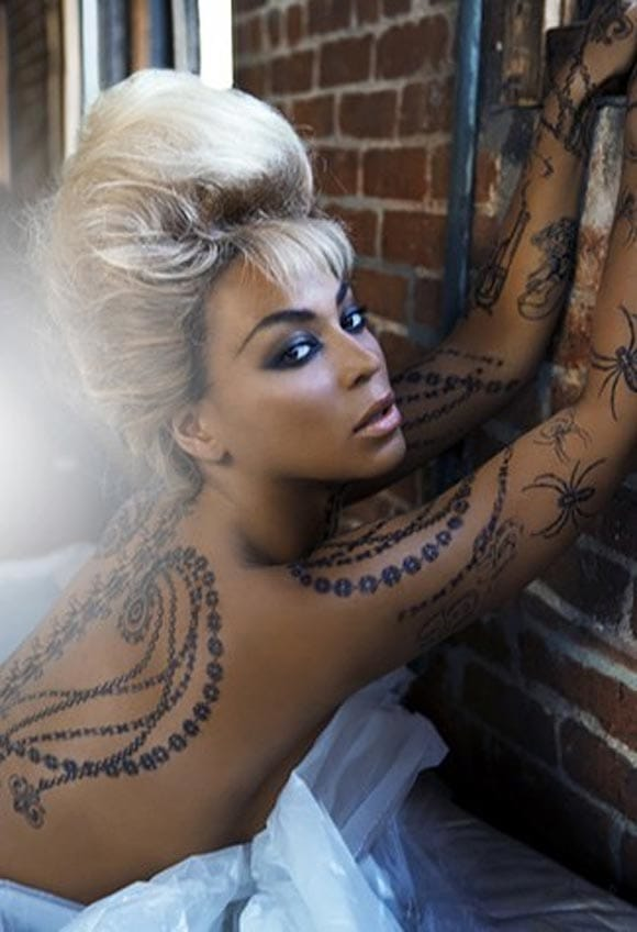 Tattooed Beyoncé