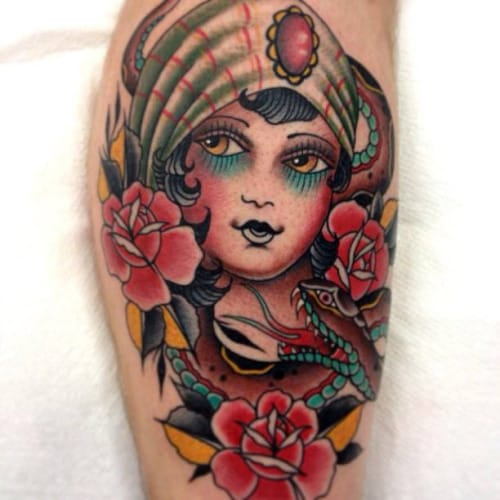 Traditional style tattoo by Andrea Giulimondi