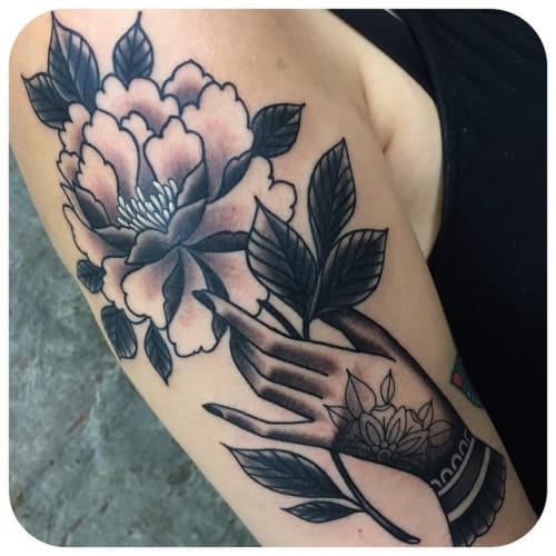 Tattoo by Becca Genne Bacon
