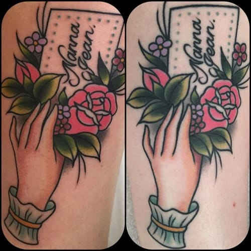 Great Tattoo by Clare Clarity