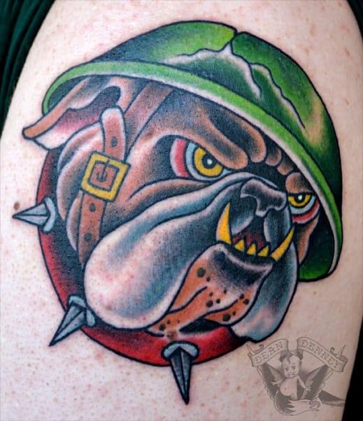 Bold Tattoo by Dean Denney