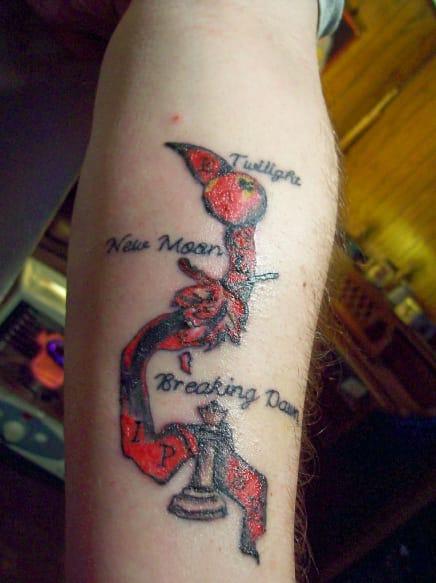 Twilight tattoo