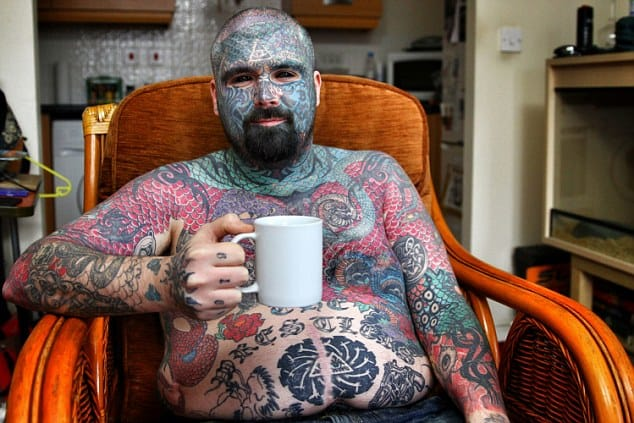King Of Inkland: Britain's Most Tattooed Man