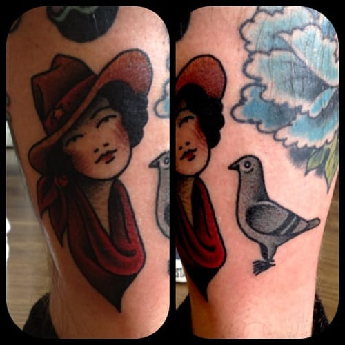 Another Great Tattoo From Jemma Jones