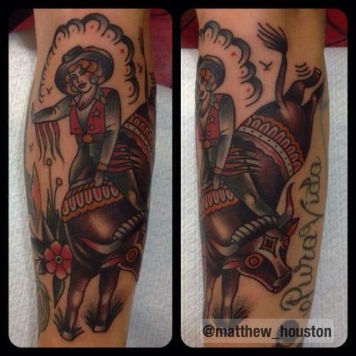 Cowgirl by Matthew Houston