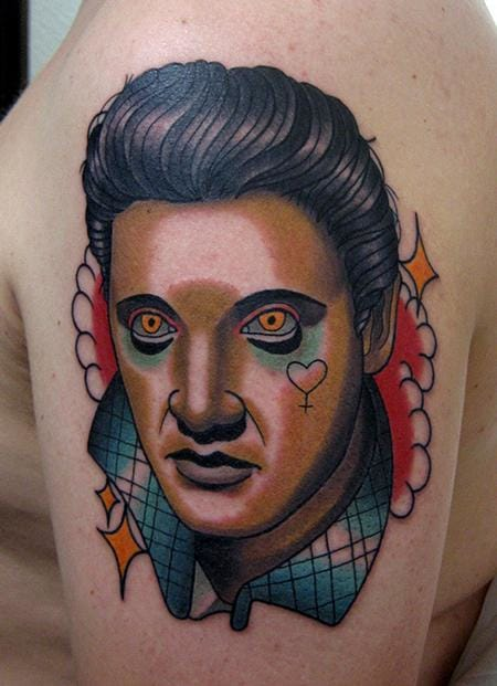 Bold Tattoo by Jonathan Montalvo