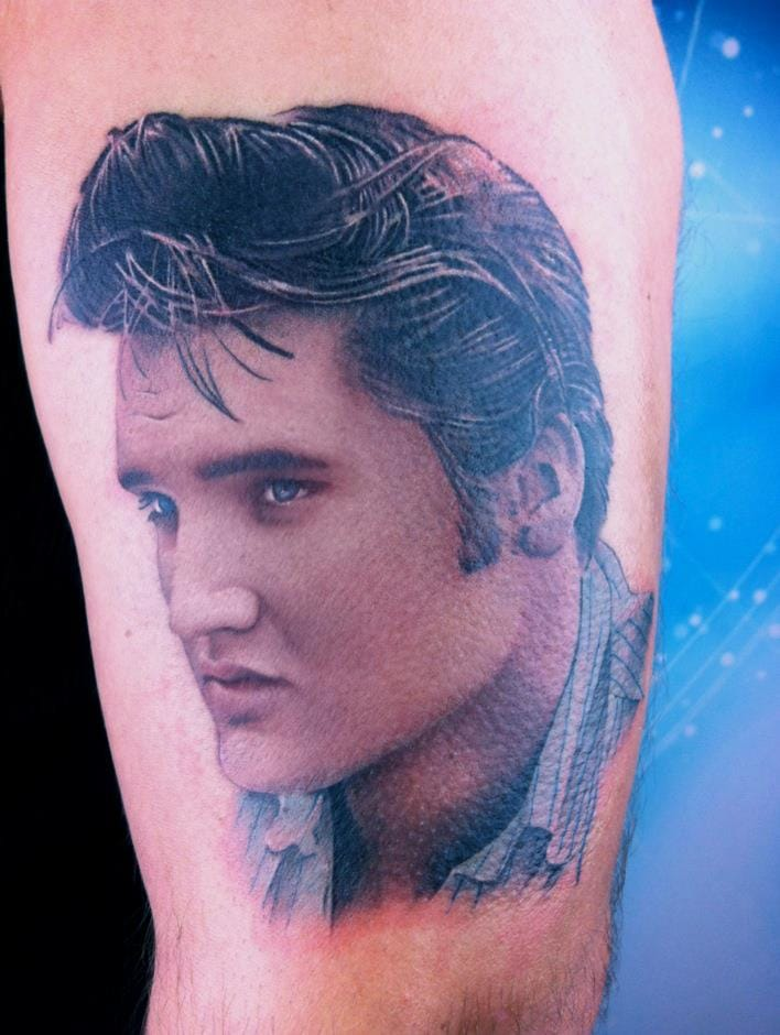 Stunning Elvis by David Corden