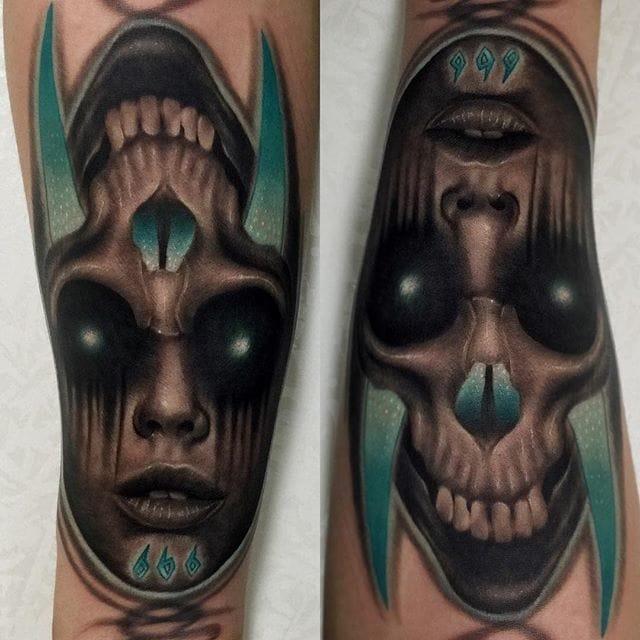 Creative tattoo by Tattooist Tados.