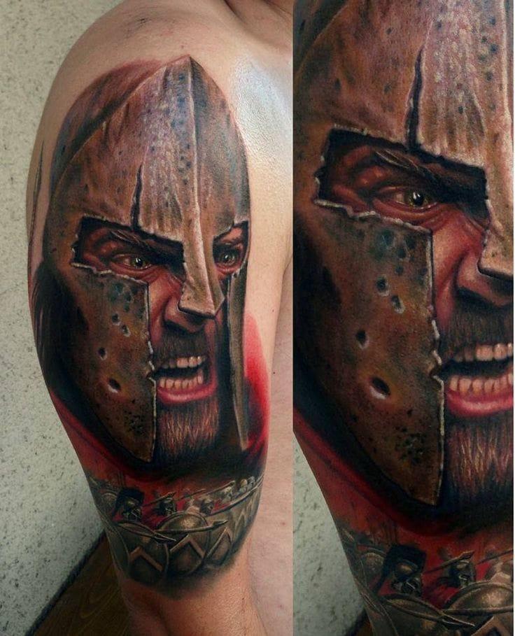 Terrific tattoo by Fahrettin Demir...