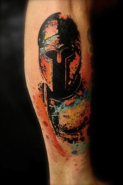 Creative tattoo by Pascal Scaillet.