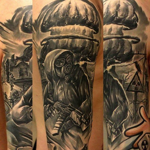 12 Apocalypse Tattoos That Are The Bomb | Tattoodo  |Apocalypto Tattoo