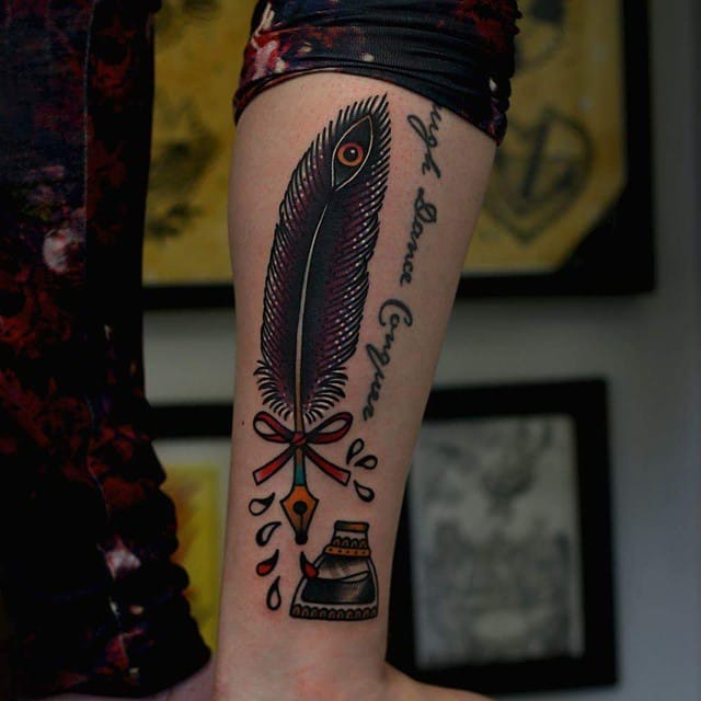 Great tattoo by Martina Ekeberg!