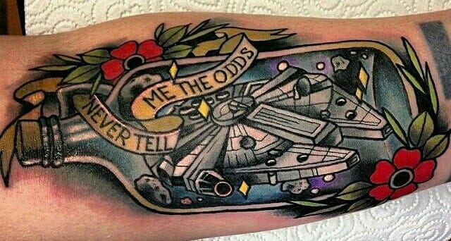 Awesome Tattoo by Polly Sands