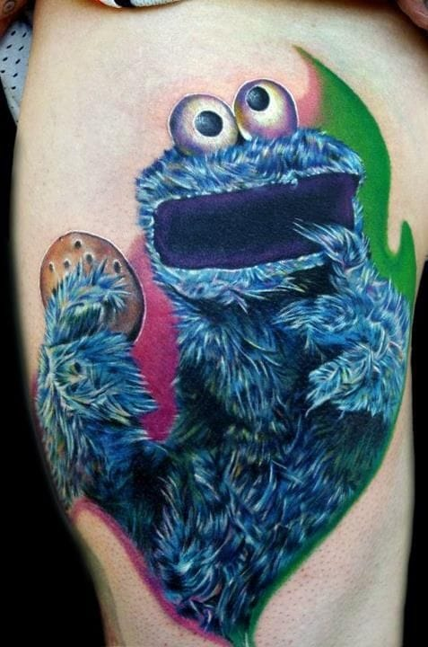 Cookie Monster -Cecil Porter