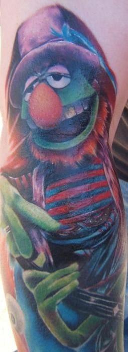 Dr Teeth and Kermit -Kyle Cotterman