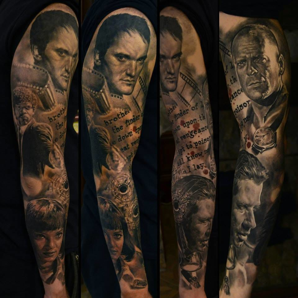 everybody be cool with these pulp fiction tattoos tattoodo