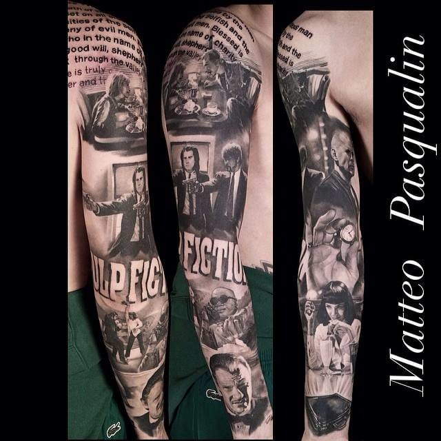 Incredible sleeve by Matteo Pasqualin!