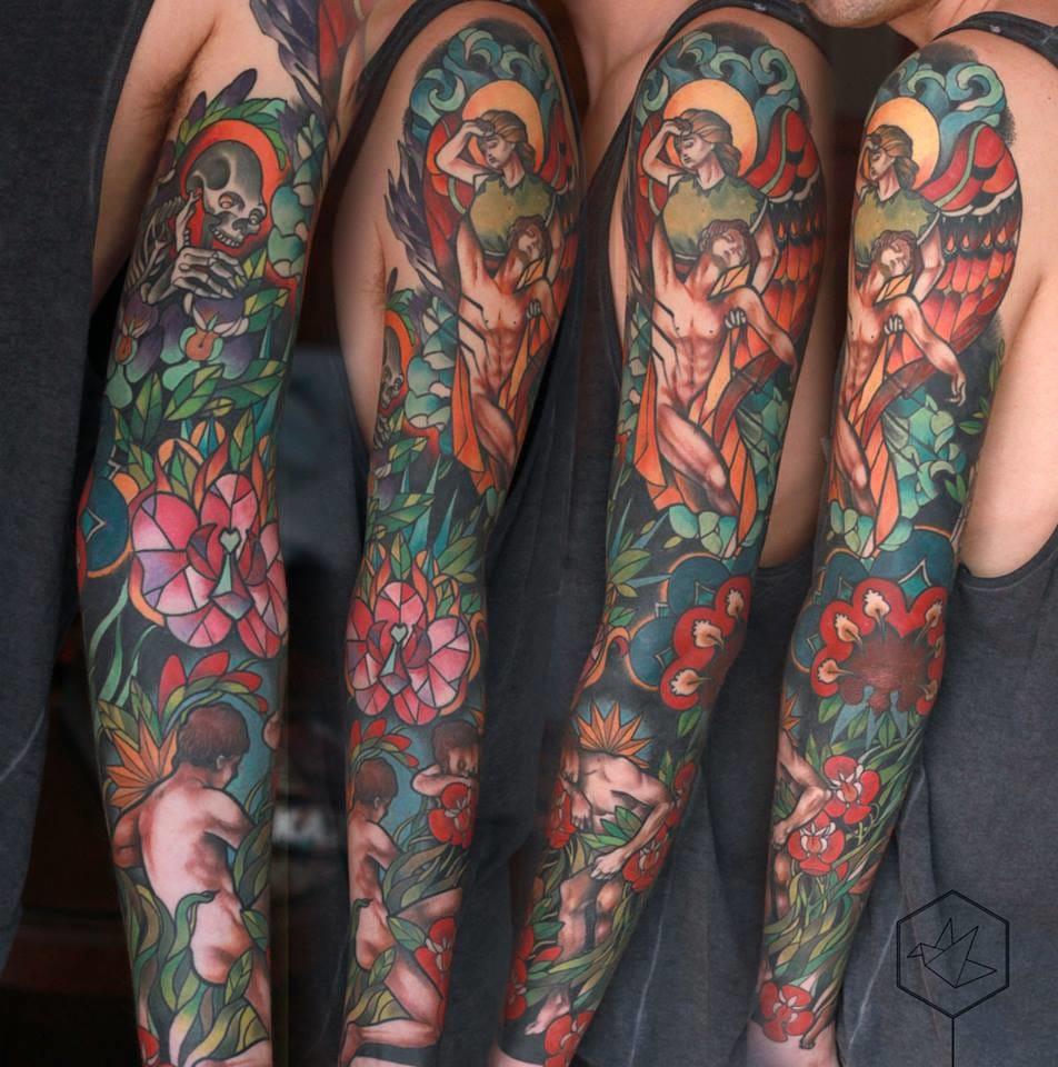 Impressive sleeve! Killer details!