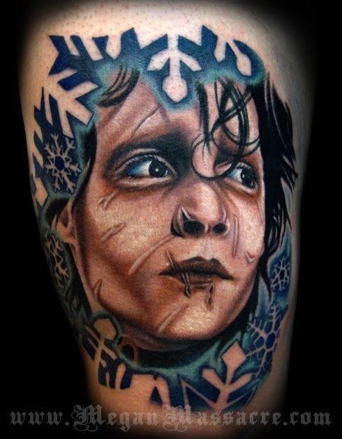 Beautiful portrait by Megan Massacre.