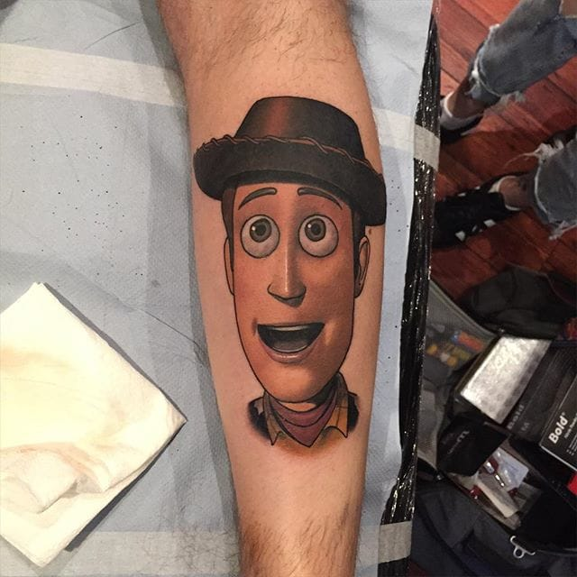 Woody Tattoo by Dan Molloy