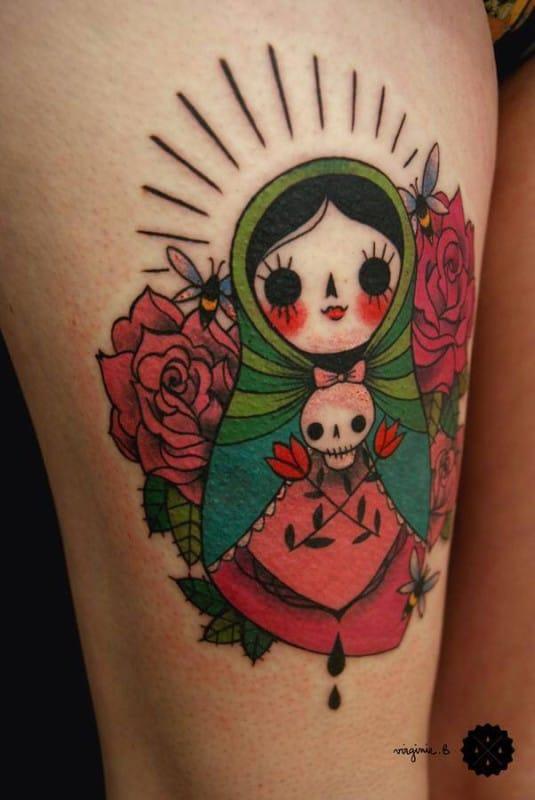 Tattoo Artist: Virginie B.