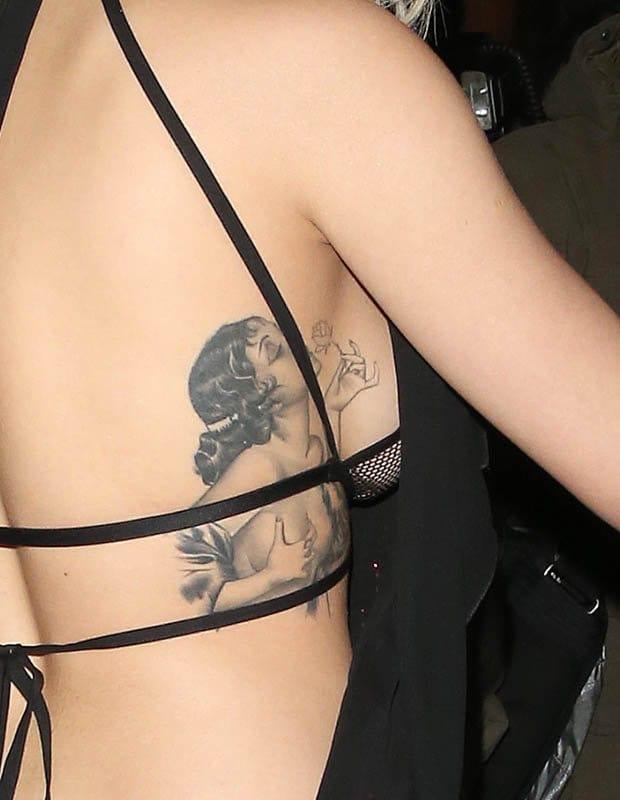 Pictured, Rita Ora