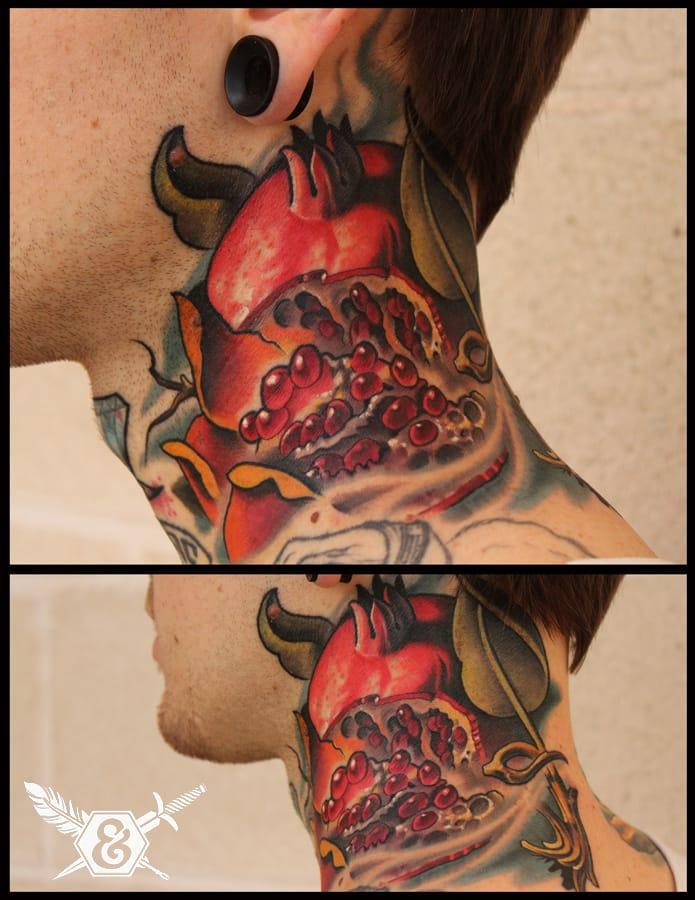 Savage neck piece by Russ Abbot