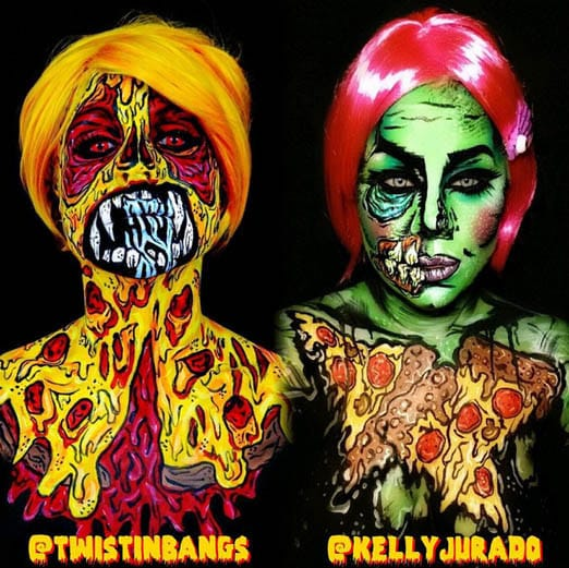 Pizza Party by Twisting Bangs and by Kelly Jurado