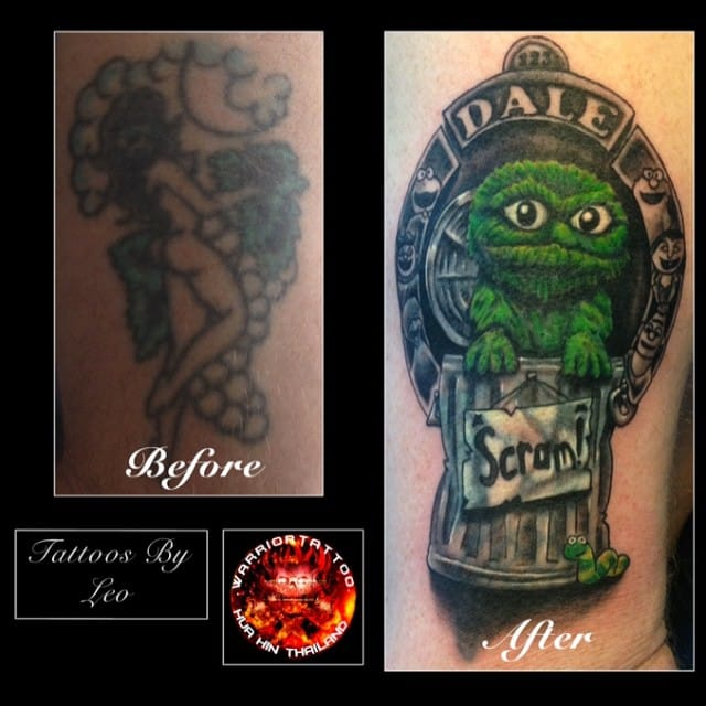 Grover cover up by LEO