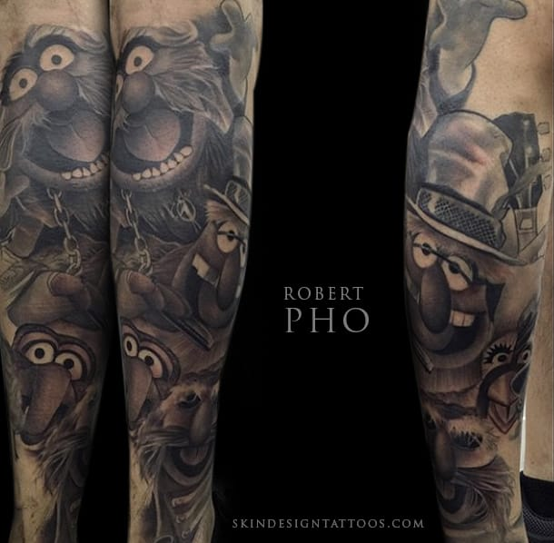 Tattoo by Robert Pho