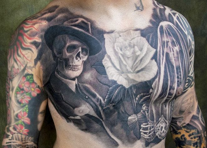 More phenomenal black and gray work honrar a los muertos by Kore Flatmo plurabella.com