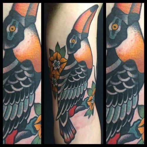 Toucan Tattoo by Skingdom Tattoo