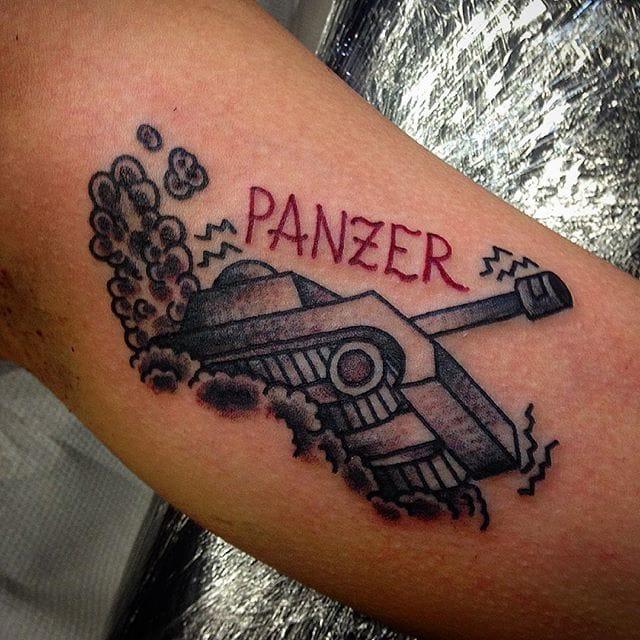 Tank Tattoo by Nero Ink Tattoo Shop