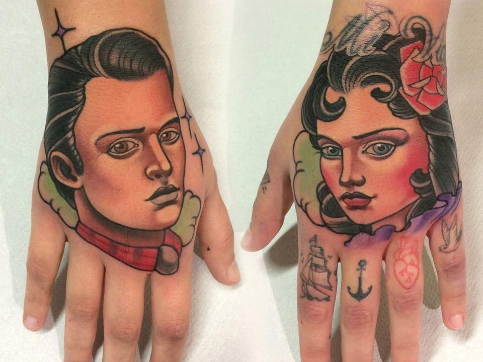 Beautiful Hand Tattoos!