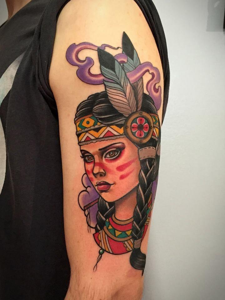 Gorgeous Native American Girl