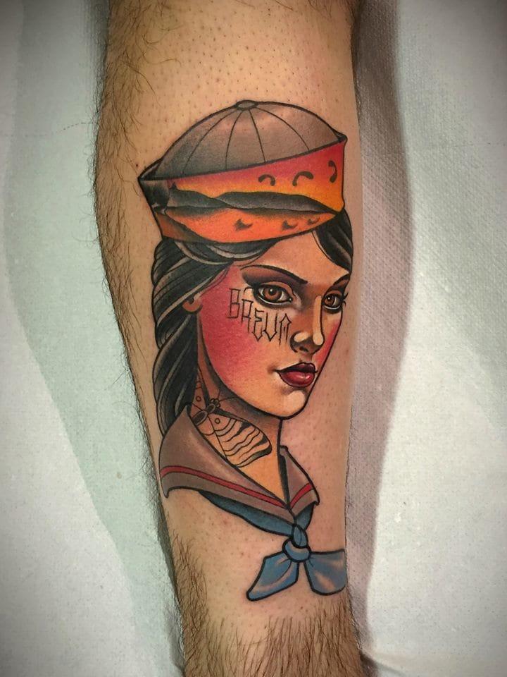 Bold Sailor Girl