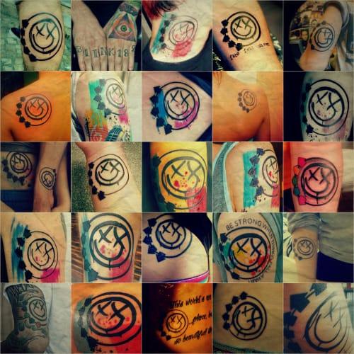Blink-182 tattoos