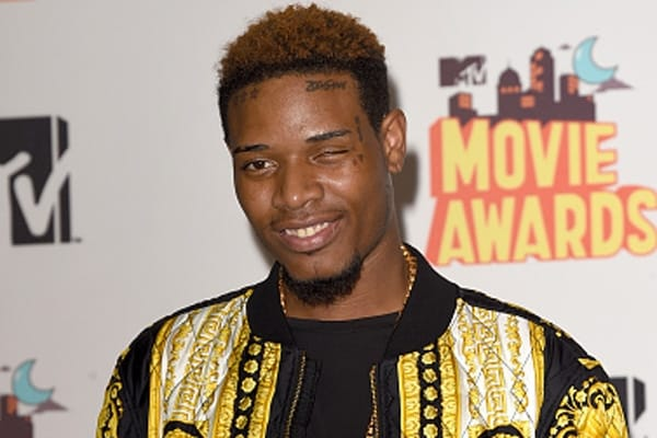 Fetty Wap's face ink, via Getty Images