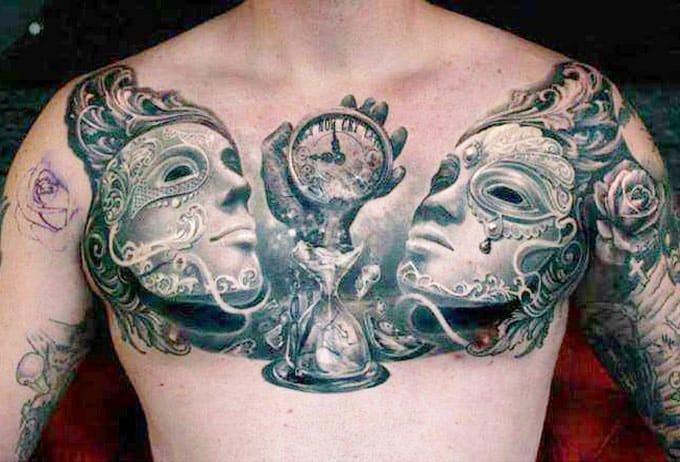 14 Tatuagens De Ampulhetas Para Você Não Perder Tempo
