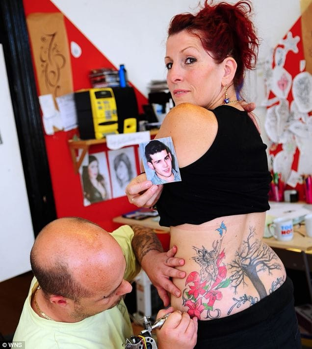 Son's Ashes Tattooed On Mom's Skin As Tribute: A Heart-Warming Story