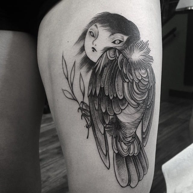 Tattoo by Nomi Chi