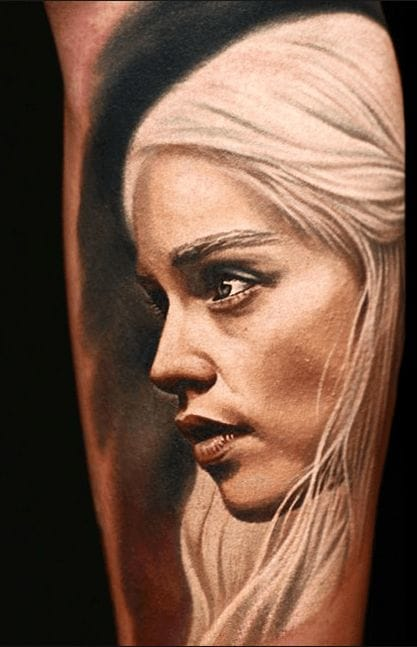 18 Daenerys Tattoos That Are Ready For The Throne