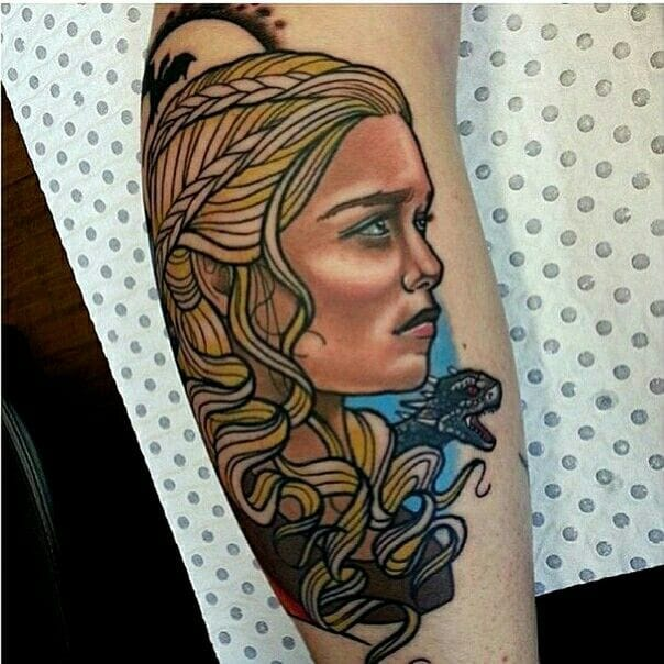 Cool in neo traditional style by Drew Shallis.